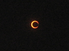 Annular eclipse - almost there!